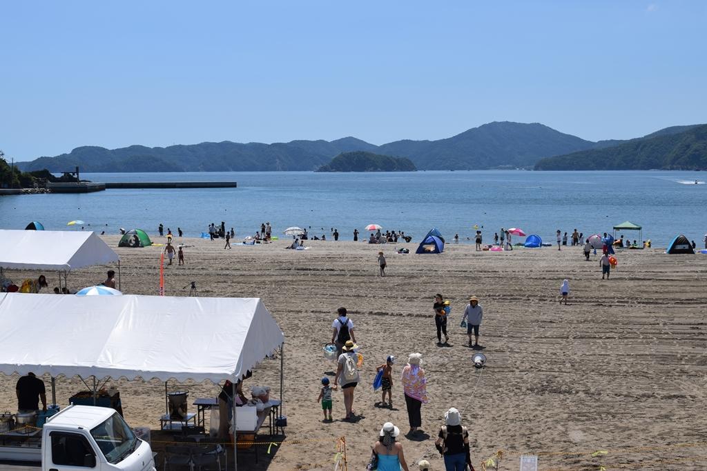 白浜海水浴場(北上町)